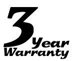 The Long Ranger, Long Range Fuel Tanks 3 Year limited Warranty