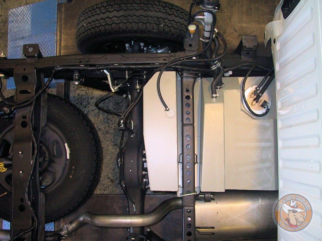 Colorado Space Cab Fuel Tank Fitment