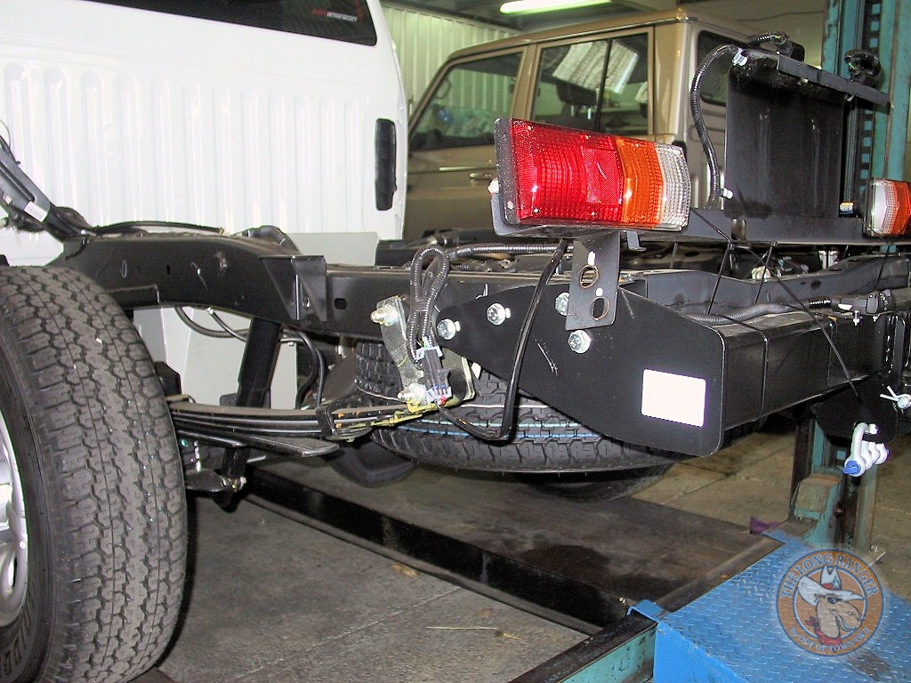 Tank Fitted To Cab Chassis - See Clearance For Tray Fitment
