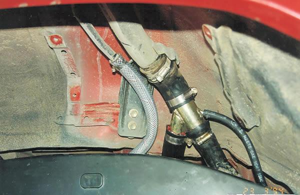 Fuel Tank Filler