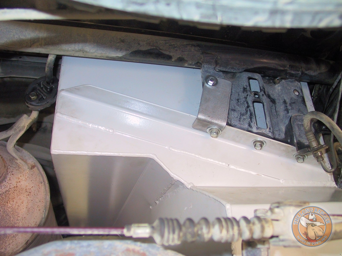 Rear Bracket with extra stregthening supplied in kit