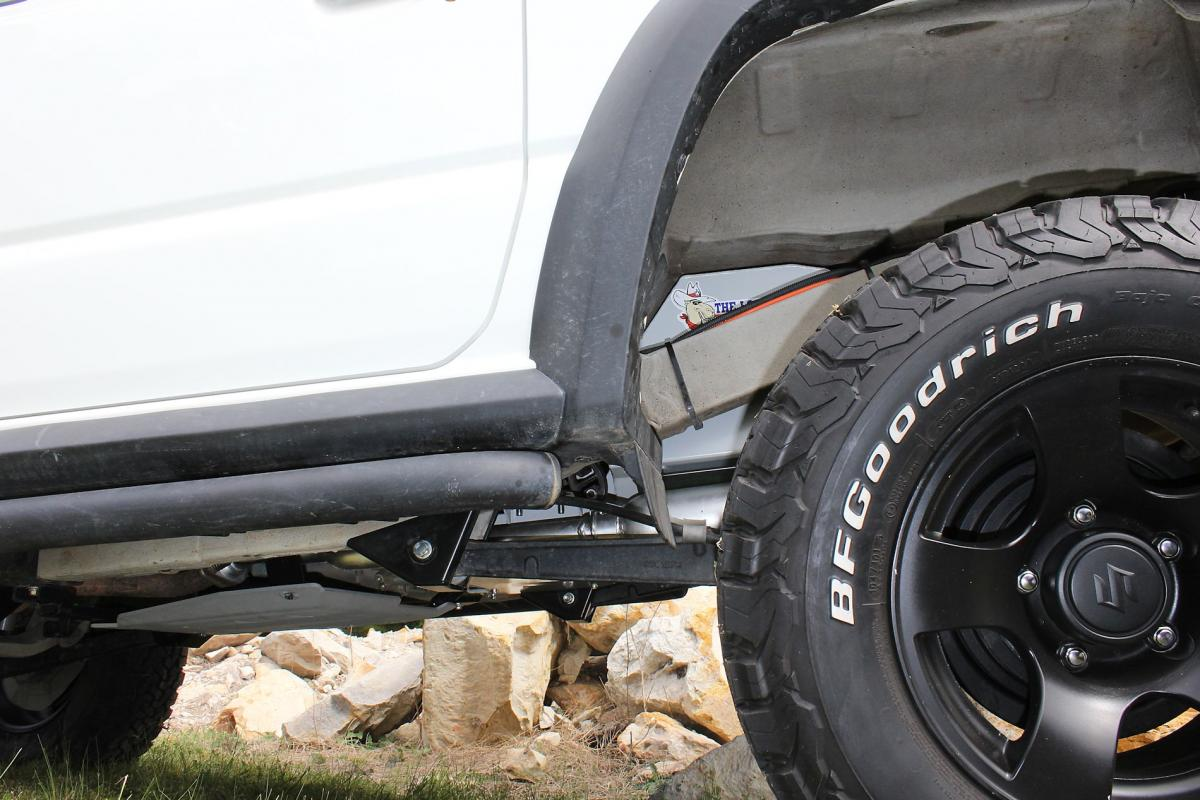TR87 Ground Clearance View