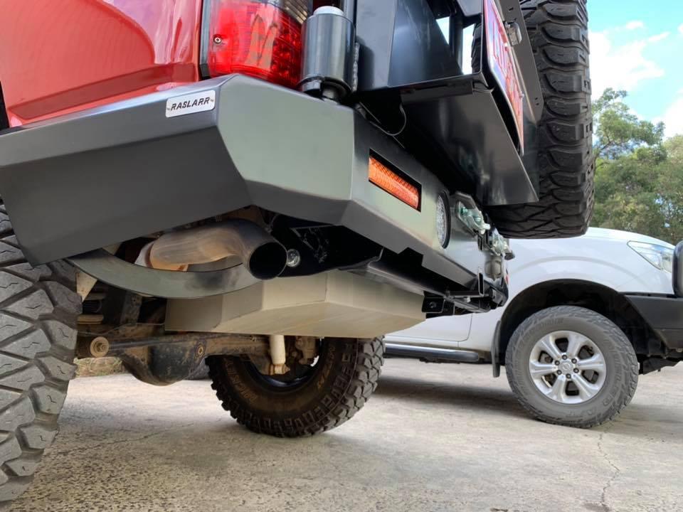 TR27 Raslarr rear bar