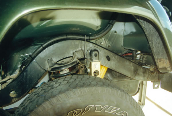 Jeep Wrangler Ta Long Ranger Fuel Tank Fast Fill Breather on Jeep Tj Fuel Pump