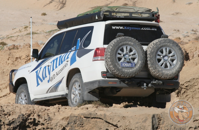 Kaymar 4WD Accessories Vehicle Fitted With A Long Ranger Combo Tank