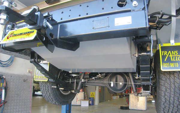 TR58U Landcruier Single Cab Fuel Tank